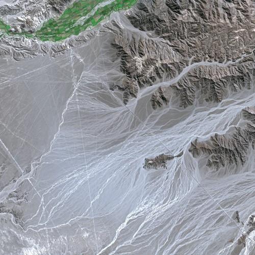 Nazka Lines from Spot Satellite