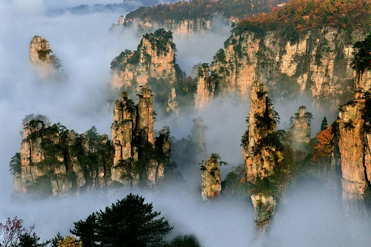 Tianzi_Mountains